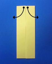 きつねの手紙の折り方4