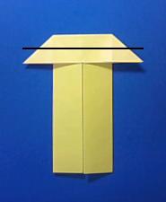 きつねの手紙の折り方5