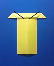 きつねの手紙の折り方6