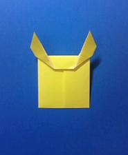 きつねの手紙の折り方7b