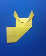 きつねの手紙の折り方9b