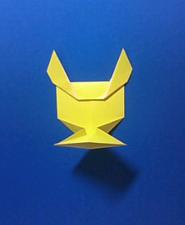 きつねの手紙の折り方9f