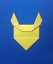 きつねの手紙の折り方10b