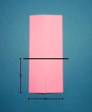 ハート01の手紙の折り方7