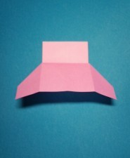 ハート01の手紙の折り方11c