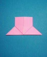 ハート01の手紙の折り方13b