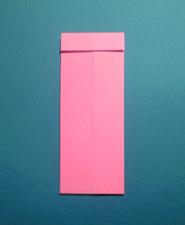 ハートのカードの折り方4