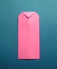 ハートのカードの折り方6