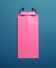 ハートのカードの折り方7
