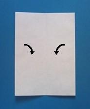 おまもりの手紙の折り方3