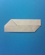 シンプル01の手紙の折り方4-2