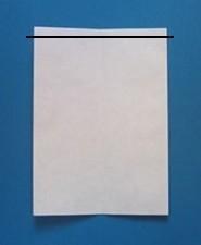 えんぴつの手紙の折り方3