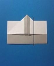 えんぴつの手紙の折り方6