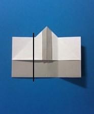 えんぴつの手紙の折り方7