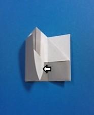 えんぴつの手紙の折り方8