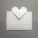 [手紙の折り方]ハート03-カード